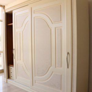 Armadio Classico Avorio Ante Scorrevoli.Armadio In Stile Classico Panna Effetto Tamponato Paternoster Home