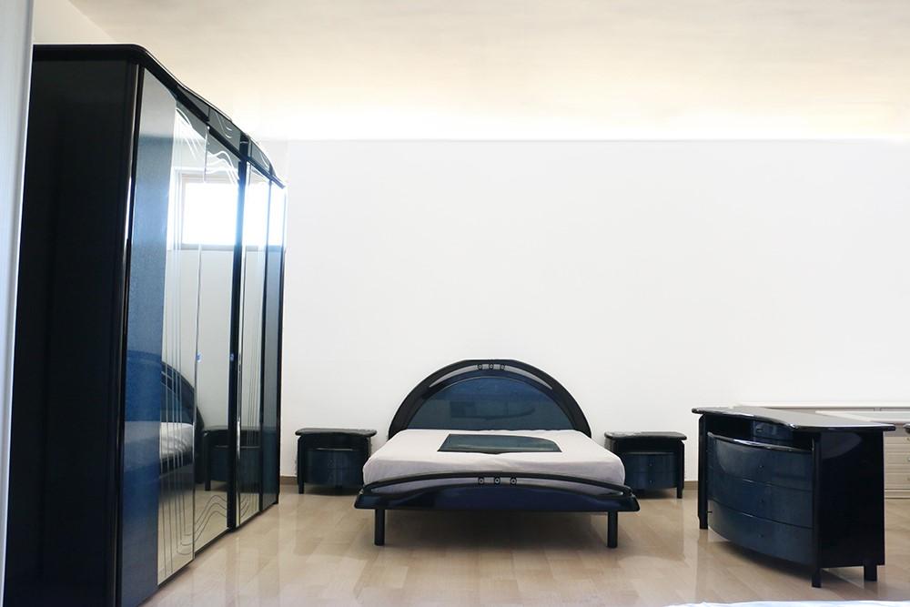 Camere Da Letto Retro.Camera Da Letto In Stile Retro Radica Blu Nero Paternoster Home