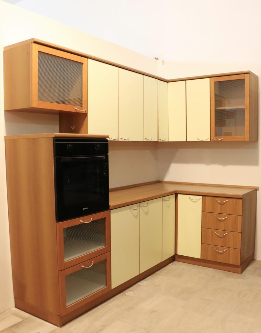 Cucina Componibile Angolare Noce Giallo Paternoster Home