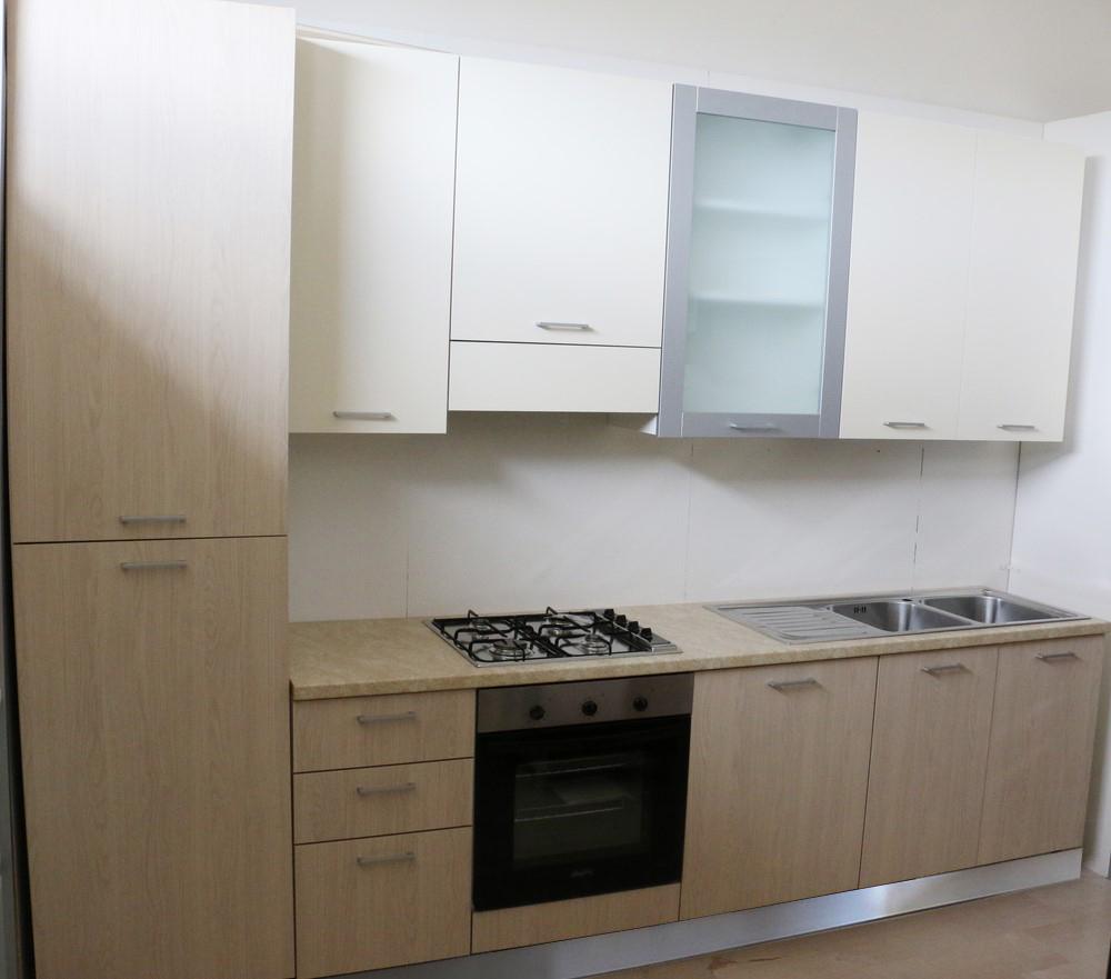 Cucina Componibile Lineare Rovere Magnolia Paternoster Home