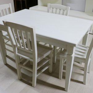Tavolo allungabile in legno AVORIO DECAPATO - Paternoster Home