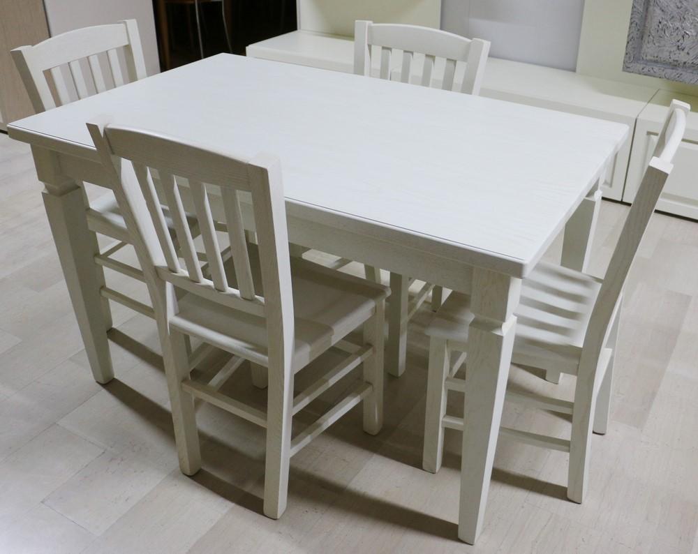 Tavolo Legno Bianco Decapato.Tavolo Allungabile In Legno Avorio Decapato Paternoster Home