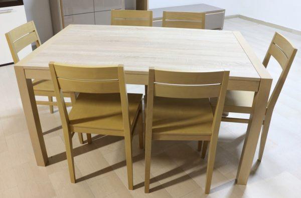 Tavolo allungabile in legno ROVERE NATURALE - Paternoster Home