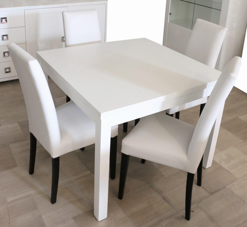Tavolo Bianco E Sedie Marroni.Tavoli E Sedie Paternoster Home