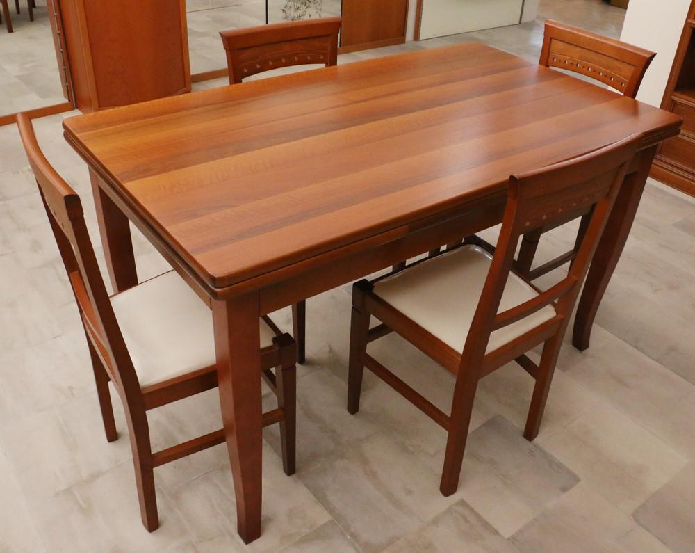 Tavolo allungabile stile classico noce ciliegio paternoster home - Tavolo allungabile classico ...