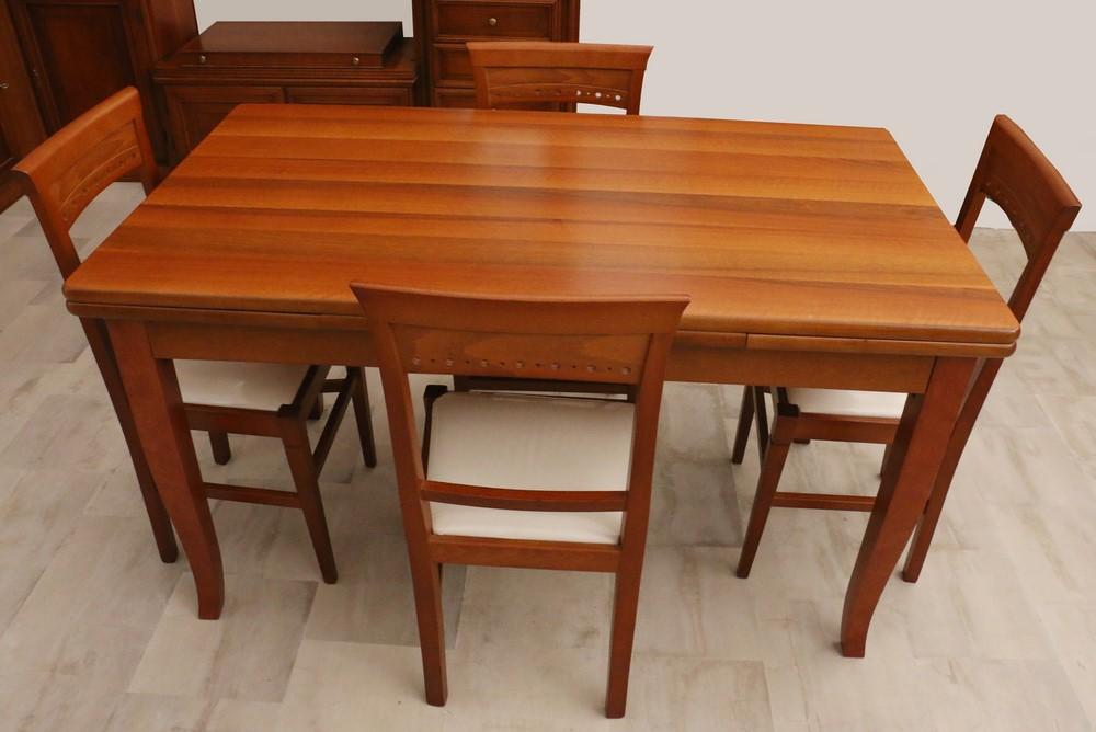 Tavolo allungabile stile classico NOCE-CILIEGIO - Paternoster Home