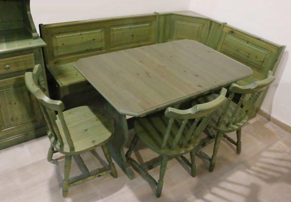 Credenza Per Tavernetta : Vetrina credenza per tavernetta in stile rustico verde anticato