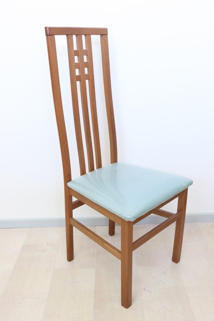 Sedia in stile moderno retr paternoster home for Sedie pvc design