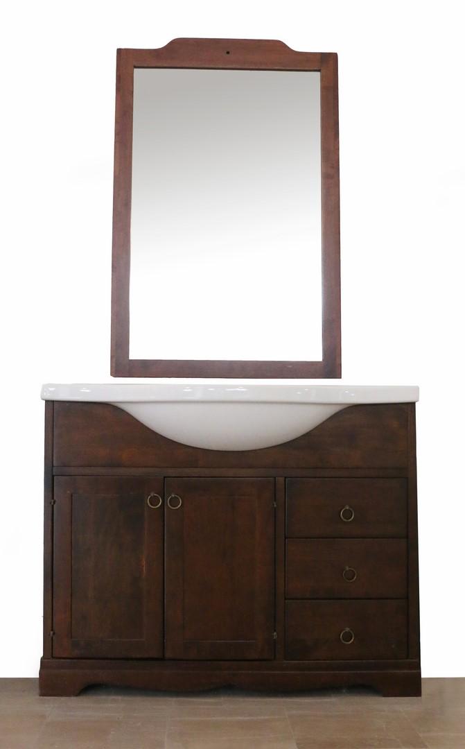 Mobile bagno in stile classico arte povera paternoster home - Mobile bagno stile classico ...