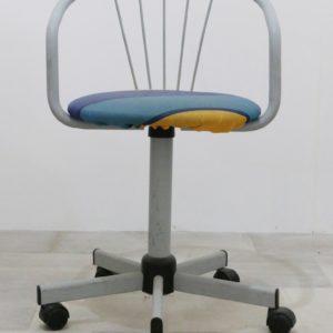 Sedie In Alluminio Per Bar Usate.Sedia In Stile Moderno Metallo Alluminio Con Ruote Usato
